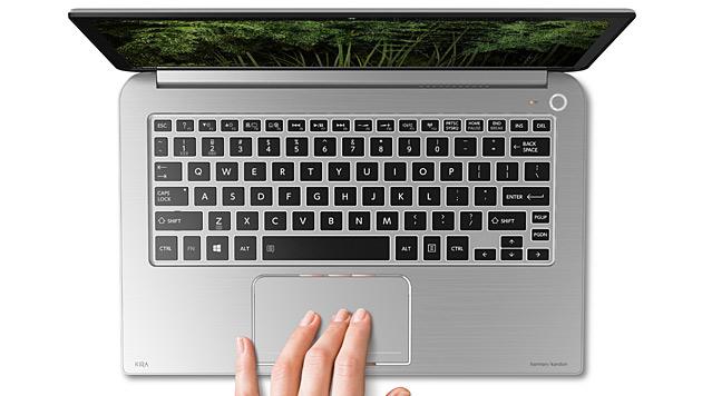 Edel-Ultrabook mit PixelPure-Display von Toshiba (Bild: Toshiba)