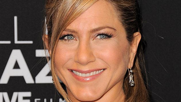 Jennifer Aniston: Verrückt durch Hochzeitsplanung (Bild: AP)