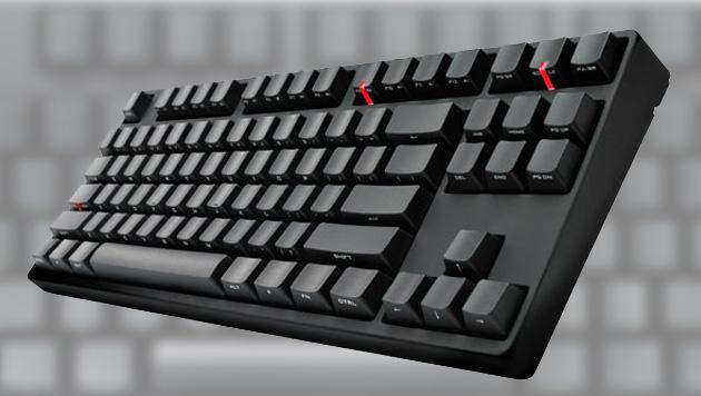 Tastatur mit versteckter Beschriftung (Bild: Coolermaster, krone.at-Grafik)