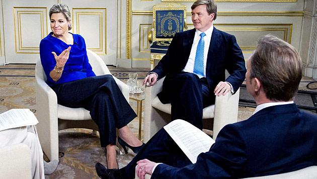 """Willem-Alexander: """"Monarchie wird sich verändern"""" (Bild: EPA)"""