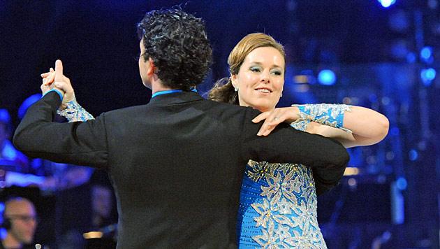 """""""Dancing Stars"""": Letzter Walzer für Monika Salzer (Bild: ORF/Ali Schafler)"""