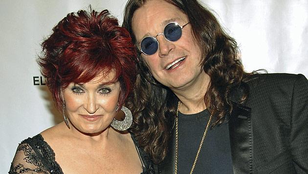 Sharon Osbourne stellt Ozzy ein Ultimatum (Bild: AP)