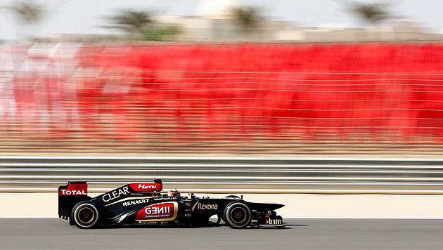 Tagesbestzeit für Räikkönen, Webber vor Vettel Zweiter (Bild: EPA)