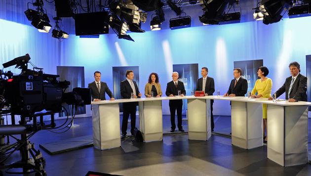 """Tirol-Wahl: """"Italo-Verhältnisse"""" vs. """"positive Vielfalt"""" (Bild: APA/Robert Parigger)"""