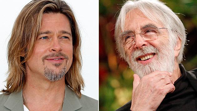 Michael Haneke gab Hollywood-Beau Brad Pitt einen Korb (Bild: EPA, APA/Georg Hochmuth)