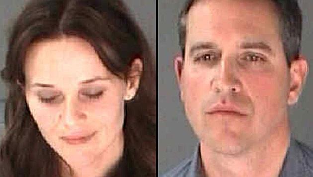Reese Witherspoon und Ehemann Jim Toth verhaftet (Bild: AP)
