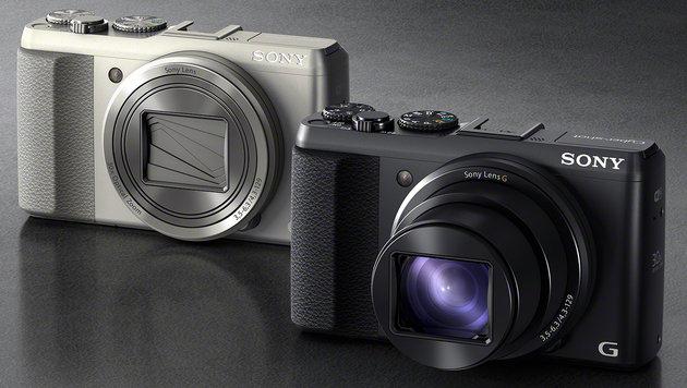 Neue Kompakte von Sony mit 30-fach optischem Zoom (Bild: Sony)