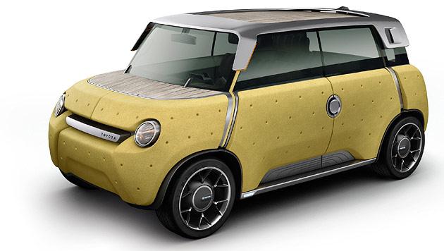 Toyota Me.We: Dieses Auto wächst teilweise nach (Bild: Toyota)