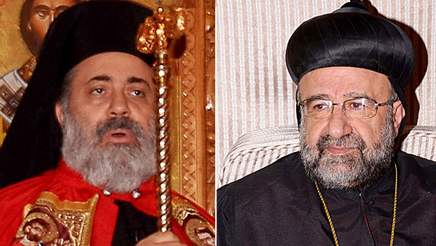 Verwirrung um zwei entführte Bischöfe in Syrien (Bild: AP)