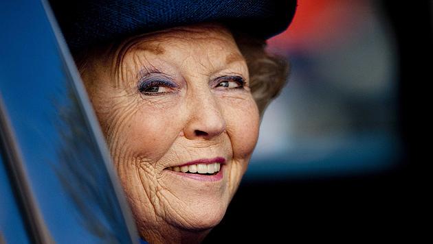 Beatrix absolvierte letzten offiziellen Termin als Königin (Bild: EPA)