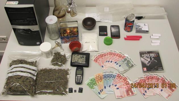 Jugendlicher (18) verkaufte fünf Kilo Cannabis - in Haft (Bild: Polizei)