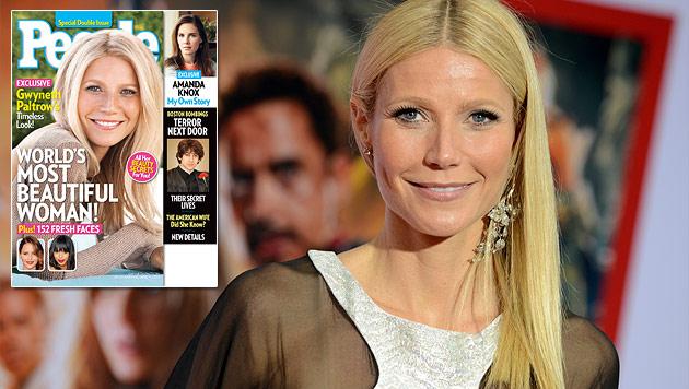 """People"": Gwyneth Paltrow ist schönste Frau der Welt (Bild: AP)"