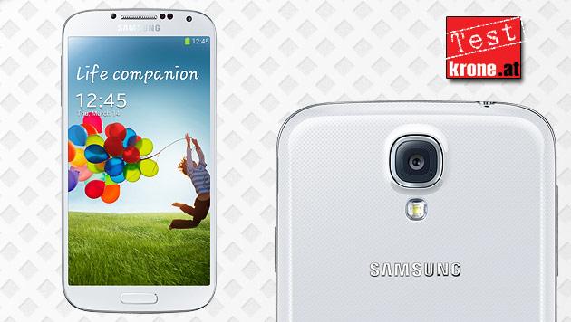 So gut ist Samsungs Handy-Messias: Galaxy S4 im Test (Bild: Samsung, krone.at-Grafik)