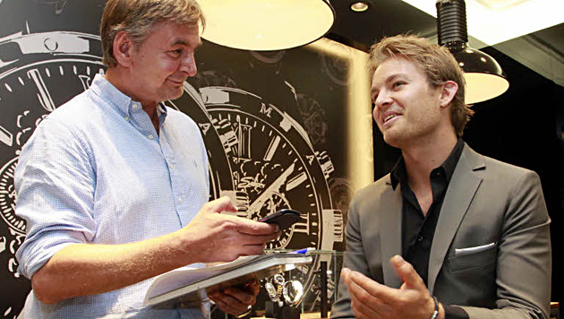 "Formel-1-Star Nico Rosberg: ""Erfolg macht viel Spaß"" (Bild: Gerhard Gradwohl)"