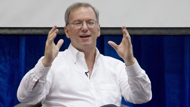 Google-Vorstand Eric Schmidt bekommt Mega-Bonus (Bild: AP)