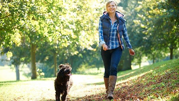 Hunde stärken unseren Blick für Gefühle (Bild: thinkstockphotos.de)
