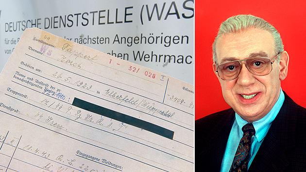 Behörde bestätigt: Tappert war Waffen-SS-Mitglied (Bild: EPA)