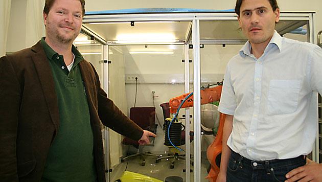 """Internationaler Preis für """"fühlende"""" Roboter aus Linz (Bild: JKU)"""