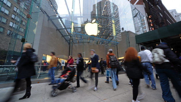 Apple im Weihnachtsgeschäft wohl mit Rekordabsatz (Bild: EPA)