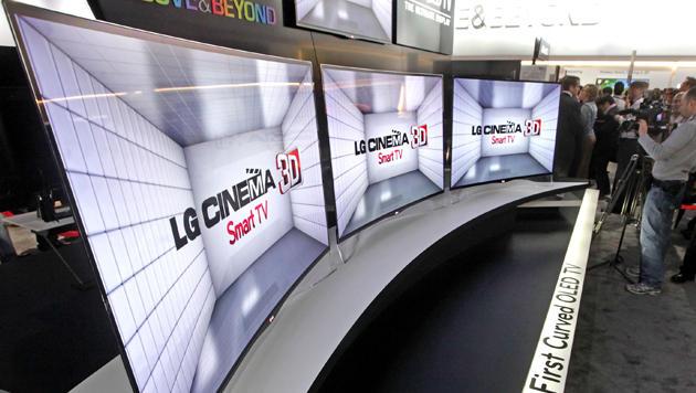 LG bringt ersten gekrümmten OLED-TV auf den Markt (Bild: LG)