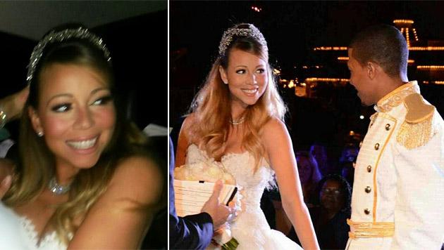 """Mariah Carey und Nick Cannon sagten schon wieder """"Ja"""" (Bild: Twitter.com/MariahCarey)"""