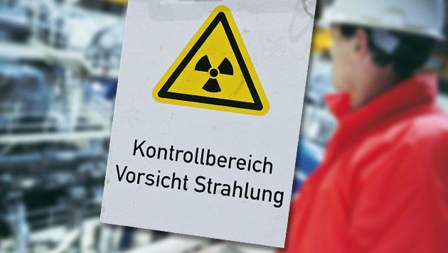 Atom-Zentrum Seibersdorf: Zwei Arbeiter verstrahlt (Bild: thinkstockphotos.de, dpa/Hans-Jürgen Wege (Symbolbild))