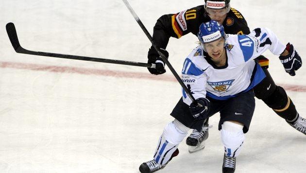 Gastgeber Finnland ringt Deutschland einen 4:3-Sieg ab (Bild: AP)