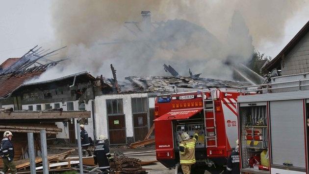 """Hof in Salzburg """"bis auf Grundmauern"""" abgebrannt (Bild: MARKUS TSCHEPP)"""