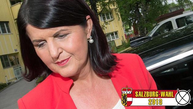 Abgewählt: Gabi Burgstaller tritt zurück (Bild: APA/NEUMAYR/MMV)