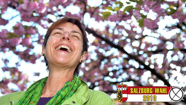 Grüne Überflieger in Stadt Salzburg sogar Nummer eins (Bild: APA/BARBARA GINDL)