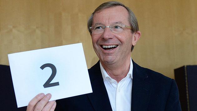 """Spitzenkandidaten gaben Stimme ab: """"Schlüsseltag"""" (Bild: APA/ROBERT JAEGER)"""