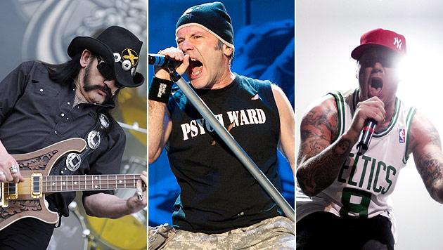 Iron Maiden, Motörhead und Co. am Schwarzlsee (Bild: EPA, Andreas Graf)