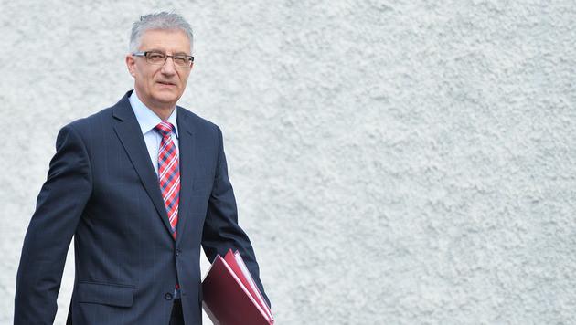 Landesrat Steidl wird Nachfolger von Gabi Burgstaller (Bild: APA/BARBARA GINDL)