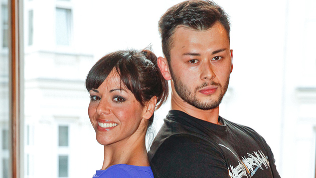 Marjan Shaki und Lukas Plöchl drehen ORF-Tanzfilm (Bild: ORF/Milenko Badzic)