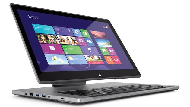 Touch-Notebooks laut Acer auf dem Vormarsch (Bild: Acer)