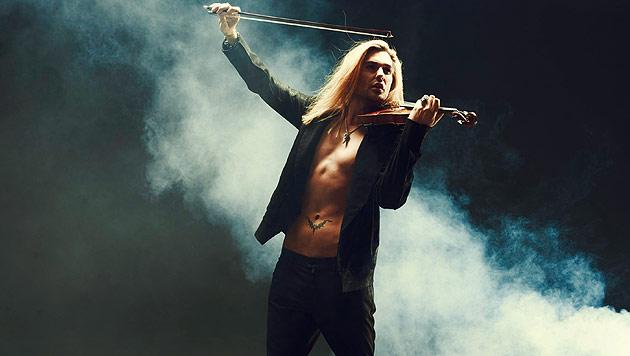 David Garrett �ber Nacktszenen und �bungsstunden (Bild: Universal Music)