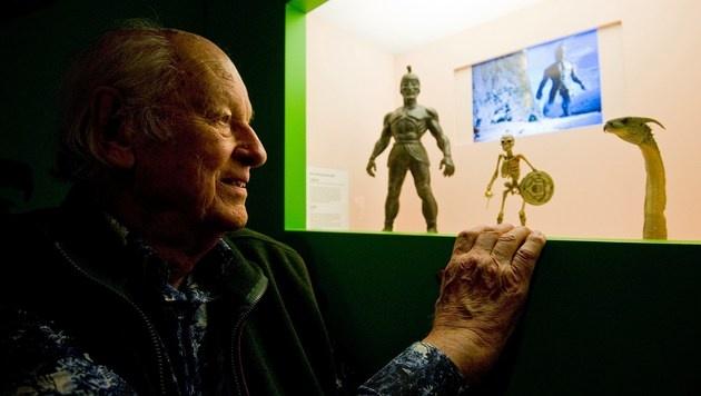 Effekte-König Ray Harryhausen mit 92 Jahren gestorben (Bild: AFP)