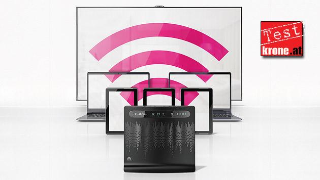 """""""Home Net"""": DSL-Ersatz von T-Mobile im Empfangstest (Bild: T-Mobile)"""
