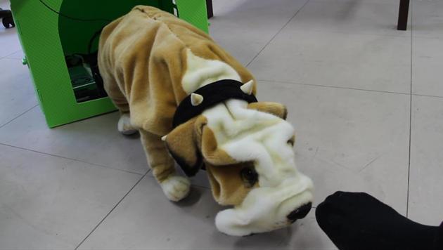 Roboter erkennen Mundgeruch und stinkende Socken (Bild: Screenshot, asahi.com)