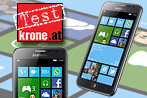 Samsung Ativ S: Mittelklasse mit Windows Phone 8 (Bild: Samsung, krone.at-Grafik)