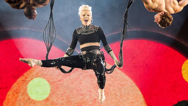 Superstar Pink begeisterte in der Wiener Stadthalle (Bild: Andreas Graf)