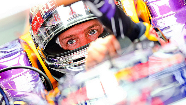 Weltmeister Vettel Schnellster im Freitagstraining (Bild: EPA)