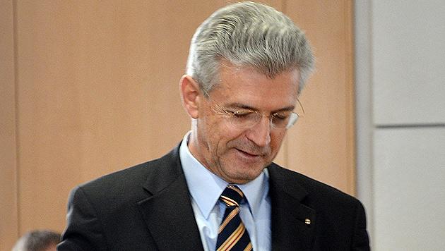 Salzburg: Hofrat Paulus möchte in Pension gehen (Bild: APA/GINDL)