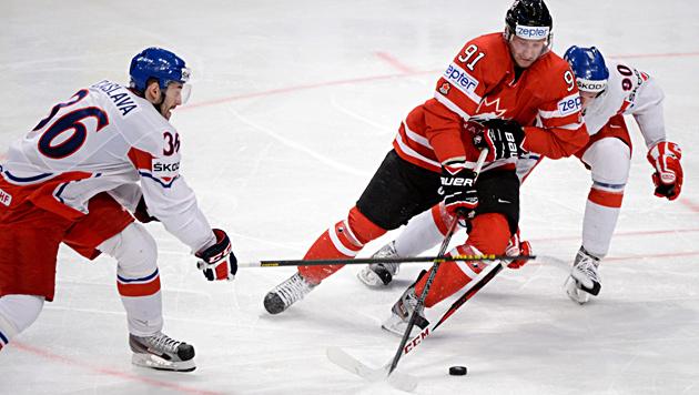 Kanadier besiegen Tschechien, USA im Viertelfinale (Bild: AP)