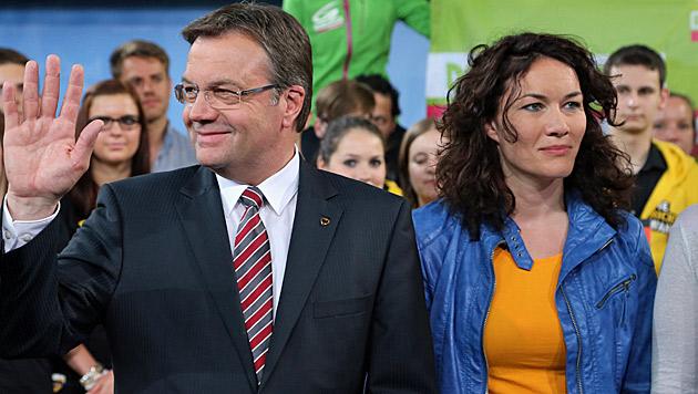 Günther Platter und Ingrid Felipe bildeten nach der Landtagswahl im Jahr 2013 eine Koalition. (Bild: Christof Birbaumer)
