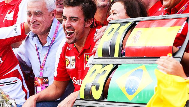 """Alonso: """"Haben ein Paket, um die WM holen zu können"""" (Bild: EPA)"""