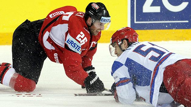 Russland zu stark: Österreich steigt nach 4:8 ab (Bild: AP)