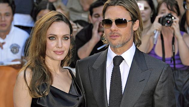 """Brad Pitt: """"Angies Entscheidung ist absolut heldenhaft"""" (Bild: EPA)"""