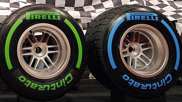 Ecclestone kündigt Rückkehr zum Vorjahresreifen an (Bild: EPA)