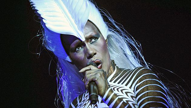 Exzentrisches Gesamtkunstwerk Grace Jones wird 65 (Bild: EPA)